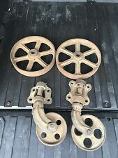 Industrial Age Factory Cart Cast Iron Wheels Hardware Lineberry Coffee Table Wow