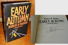 Signed First Edition ~ Early Autumn by Robert B. Parker (1981, Hardcover)