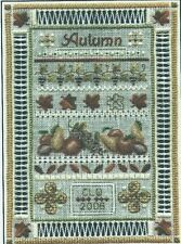 """Miniature Autumn Sampler"" TERESA WENTZLER TW Designs Traditions #8 ©2006 OOP"