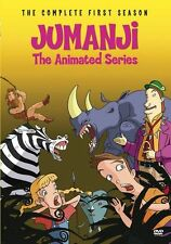 JUMANJI: ANIMATED SERIES - COMPLETE FIRST SEASON Region Free DVD - Sealed