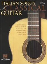 Italian Songs For Classical Guitar Learn to Play Classics TAB Music Book