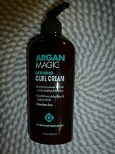 ARGAN MAGIC~~DEFINING CURL CREAM FOR THE HAIR 7.5 OZ PUMP