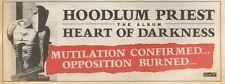 25/8/90 Pgn35 Advert: Hoodlum Priest The New Album heart Of Darkness 4x11