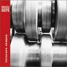 LAVORARE STANCA Daniele SEPE Musica Etnica World Music CD il Manifesto 2003