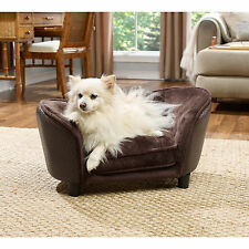 Sofa Beds For Dogs Cats Raised Couch Sleeper Furniture Small Pets Indoor Brown