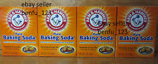 4 Arm & Hammer Pure Baking Soda The Standard of Purity @1lb *NEW* Ship Fast
