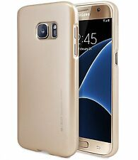 Galaxy S7 Edge S6 Edge Plus S5 S4 Case GOOSPERY Ring2 i Clear Jelly Metal Cover