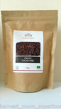 UK Soil Association Certified Organic Raw Cacao Nibs 1kg ( 2 x 500g )