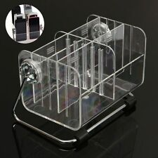 TV Remote Control Phone Key Pen Glasses Organizer Storage Box Clear Stand Holder