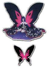 **License** Accel World SD Black King Kuroyukihime & Butterfly Pin Set #50074