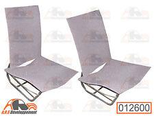 4 MOUSSES pour 2 sièges avant séparés GAUCHE et DROIT de Citroen 2CV  -12600-