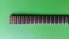 BRACELET MONTRE WATCH BAND/ extensible MARQUE SWATCH bicolore*** 12mm* ref/BI 12