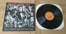 Secret Agent File 1984 USA LP Crescendo GNPS2166 Soundtracks VG+/Ex+