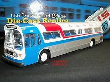 CORGI US54313 GM FISHBOWL NEW YORK BUS SERVICE AMERICAN DIECAST MODEL COACH