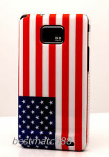 FOR SAMSUNG GALAXY S2  CASE US AMERICA AMERICAN US FLAG i9100 and i777