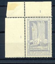 GERMANY 1912  SEMI OFF. AIRMAIL WITH MI# 4 b   CV $ 400  **  MNH ALMOST  VF