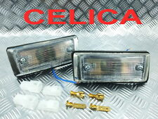 1PAIR CLEAR FRONT SIDE MARKER TOYOTA FITFOR CELICA RA20 RA22 RA21 TA22 RA23 TA23