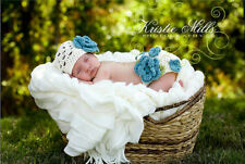 Newborn Baby Infant Knitted Crochet Costume Photo Photography Prop A62