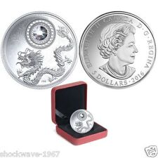 2016 Fine Silver $5 April Birthstone Coin Mintage 3000! Sold Out @ RCM