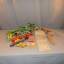Brio wooden train car track more lots of pieces box Thomas lot 2