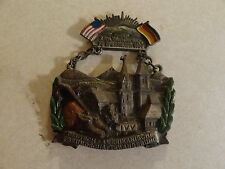 MILITARY US ARMY VOLKSMARCH MEDAL DEUTSCH AMERIKANISCHE FC SPRATTBACH 1980 GERMA