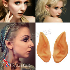 Elf Fairy Vulcan Alien Cosplay Halloween Costume Spock Hobbit Pixie Ear Tips UK