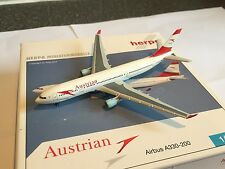 Austrian Airlines Airbus A330-200 OE-LAN Aircraft Model 1:500 Scale Herpa RARE