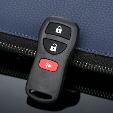 Lock Unlock Car Keyless Entry Control Remote Key Case w Chip For Nissan Infiniti