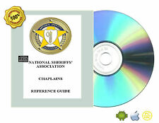 CHAPLAINS REFERENCE GUIDE by NATIONAL SHERIFFS' ASSOCIATION Book On CD