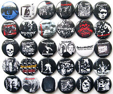 DESCARGA Punk Rock Hardcore Oi Pins botones insignias lote de 30