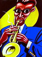 MILES DAVIS PRINT poster jazz trumpet birth of the cool cd in a silent way bebop