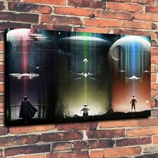 "Art QUALITY CANVAS PRINT Star Wars TIE Fighter artwork fantasy  A4046,12""x18"""