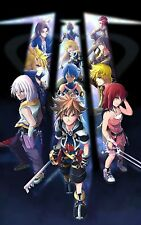 Kingdom Hearts 3  -  Huge Poster 24 in x 15 in - FAST SHIPPING