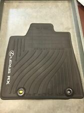 LEXUS RX350/450H 2013-2015 4 PCS BLACK ALL WEATHER MAT PT908-48130-20
