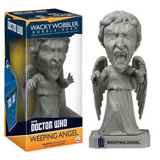 DOCTOR WHO WEEPING ANGEL FUNKO WACKY WOBBLER BOBBLE HEAD FIGURE TOY