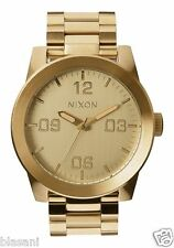 Nixon Original Corporal SS A346-502 All Gold 48mm Watch
