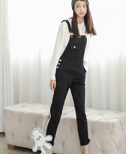 7277 New Sweet Casual Straps Bib Overall Denim Jumpsuit Playsuit Trousers Pants