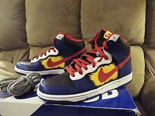Nike 2009 Dunk High SB Pop Art Comic Boom  Red Blue SZ 10.5 305050 064  NIB DS