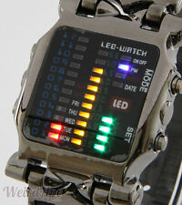 Luxury Watches Wrist Men's Digital LED Sports Watch Waterproof New Quartz UK