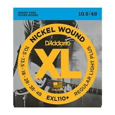 3 Sets D'Addario EXL110+ Electric Guitar Strings 10.5 -48 Light Plus Pack