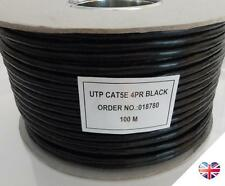 External CAT5e Outdoor Use SOLID COPPER Ethernet Network Cable Reel UTP 100m