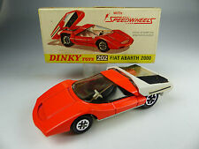 vintage Dinky Toys 202 Fiat Abarth 2000 mint in Box - NOS -