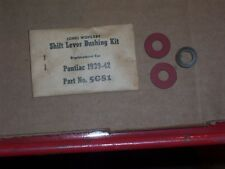 NORS WOHLERT 1939 40 41 42 PONTIAC SHIFT LEVER BUSHING KIT