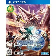 Phantasy Star Nova *PS Vita* PSV Sony Japan import Region Free! playstation