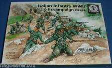 WATERLOO 1815 AP040 WW2 ITALIAN INFANTRY IN CAMPAIGN DRESS 1/72 SCALE 42 FIGURES