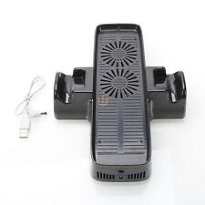 Black Mainframe Cooling Stand Fan Console Controller for Xbox 360 Slim CA