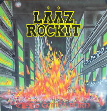 LP Laaz Rockit ‎– City's Gonna Burn,Vinyl VG+,cleaned,Steamhammer SH 0031 von 85