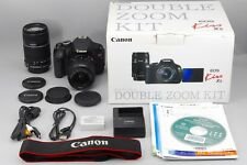 [NEAR MINT] Canon EOS Kiss X5 Rebel T3i 600D Digital w/18-55mm 55-250mm Zoom kit