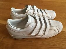 ADIDAS x Juun J White SUPERSTAR Shell Top Low Sneakers US 12 $340 SOLD OUT
