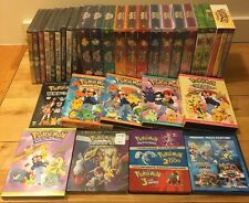 Pokemon Near Complete USA Release Blu Ray And Dvd Lot. Almost Every Episode